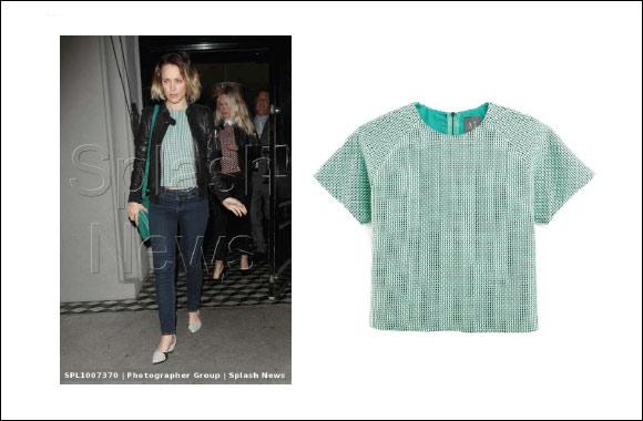Rachel McAdams spotted wearing Armani Exchange Top