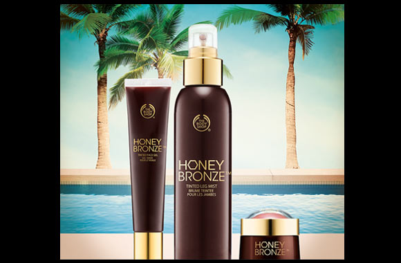 The Body Shop NEW Honey Bronze Range