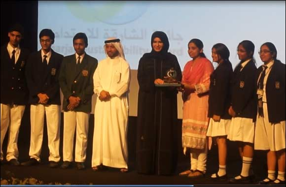 Delhi Private School-Shj wins Sharjah Sustainability Award- 3rd time in a  row