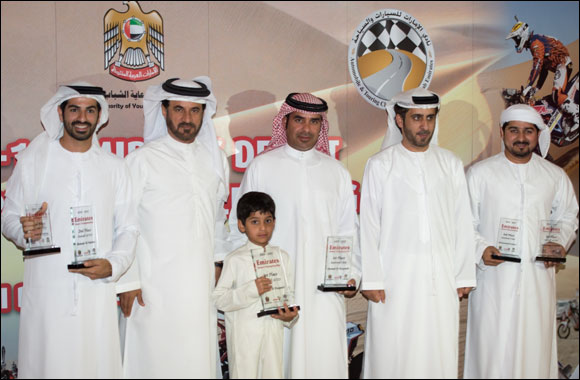 Emirates Desert Championship winners in spotlight at prize giving dinner