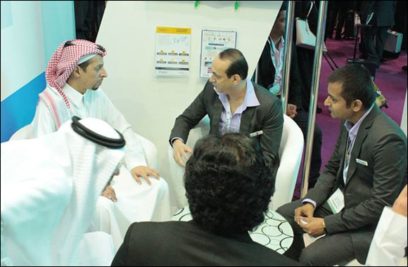 His Highness Faisal S.A. Al Faisal visits Global Innovations on ATM's opening day