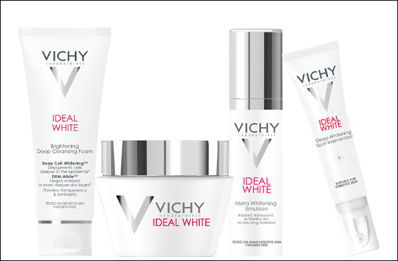 Vichy's breakthrough Ideal White:  5 pigmentation concerns now corrected