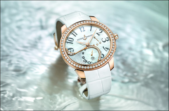 Jade – the Ulysse Nardin Manufacture Caliber Essentially for Ladies