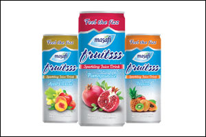 Masafi Makes Entry into Carbonated Drinks Category with Launch of �Fruitsss' Sparkling Juice