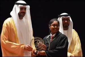 Aparajita Ramesh wins the prestigious Sharjah Award for Educational Excellence in a row