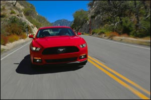 All-New 2015 Ford Mustang Powers into the Middle East Offering High Performance with Sleek New Desig ...